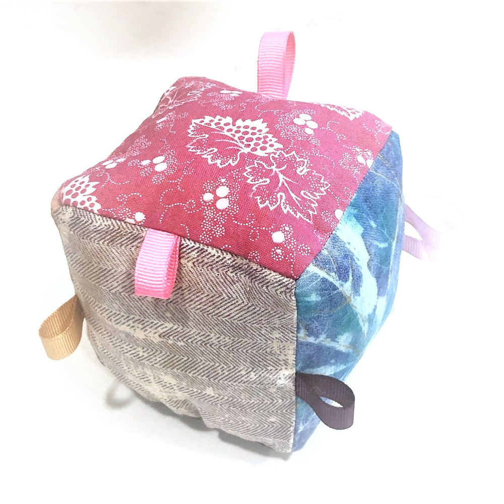 Fabric Baby Cube Toy