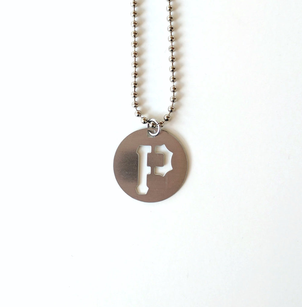 "Pittsburgh ""P"" Necklace"