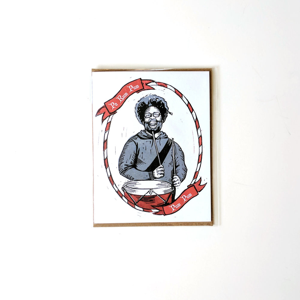 Questlove/Little Drummer Boy Holiday Card