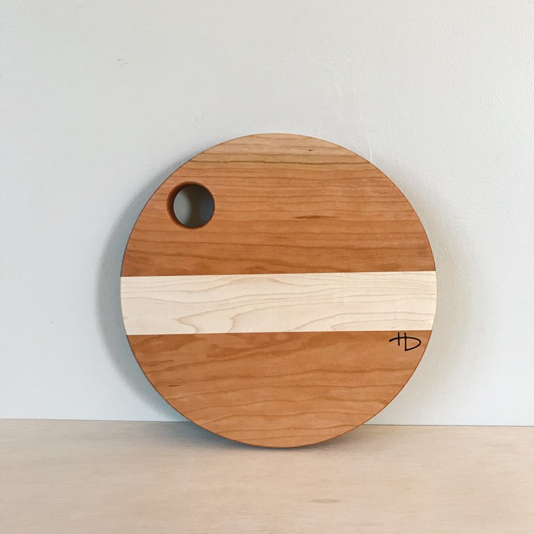 Small Cherry and Maple Cutting Board