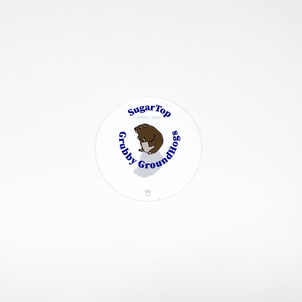 Sugar Top Grubby Groundhogs Sticker