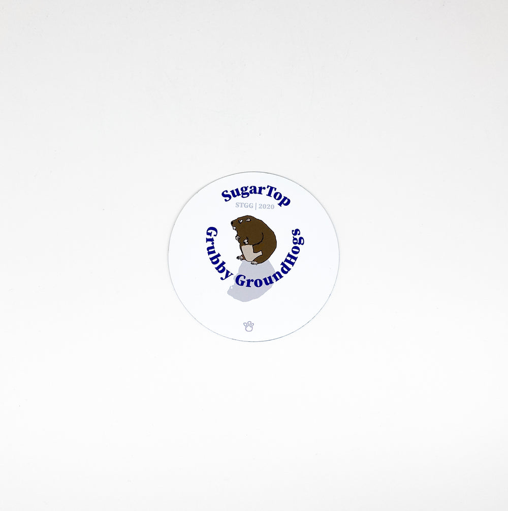 Sugar Top Grubby Groundhogs Magnet
