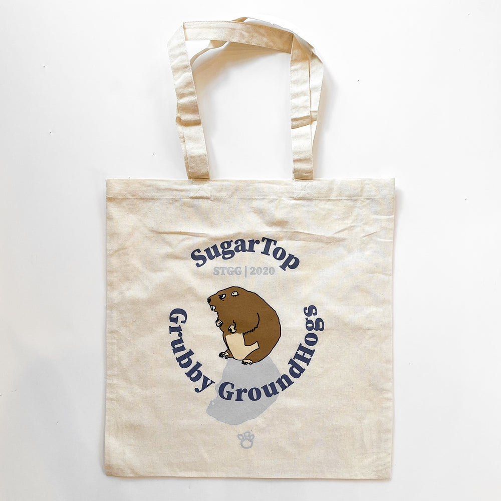 Sugar Top Grubby Groundhogs Tote