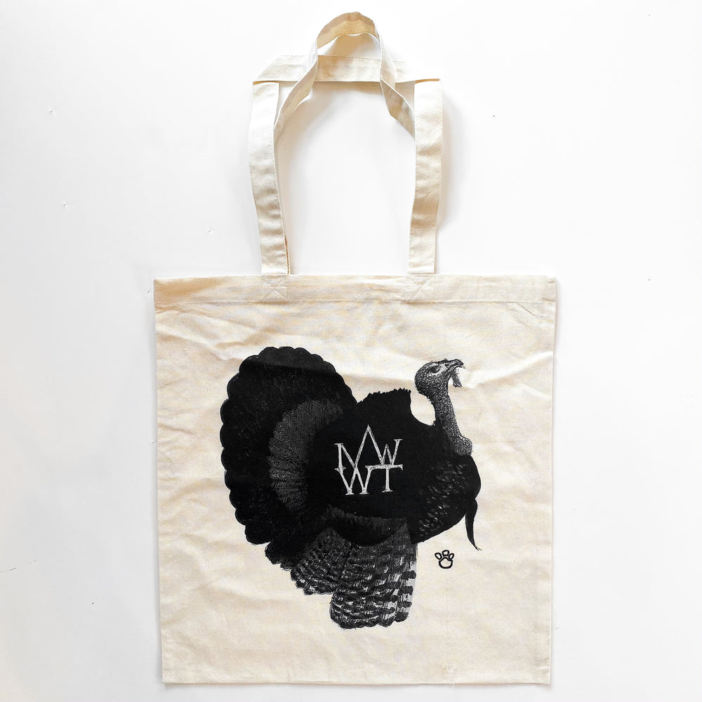 Wild Turkeys of Mt. Washington Tote