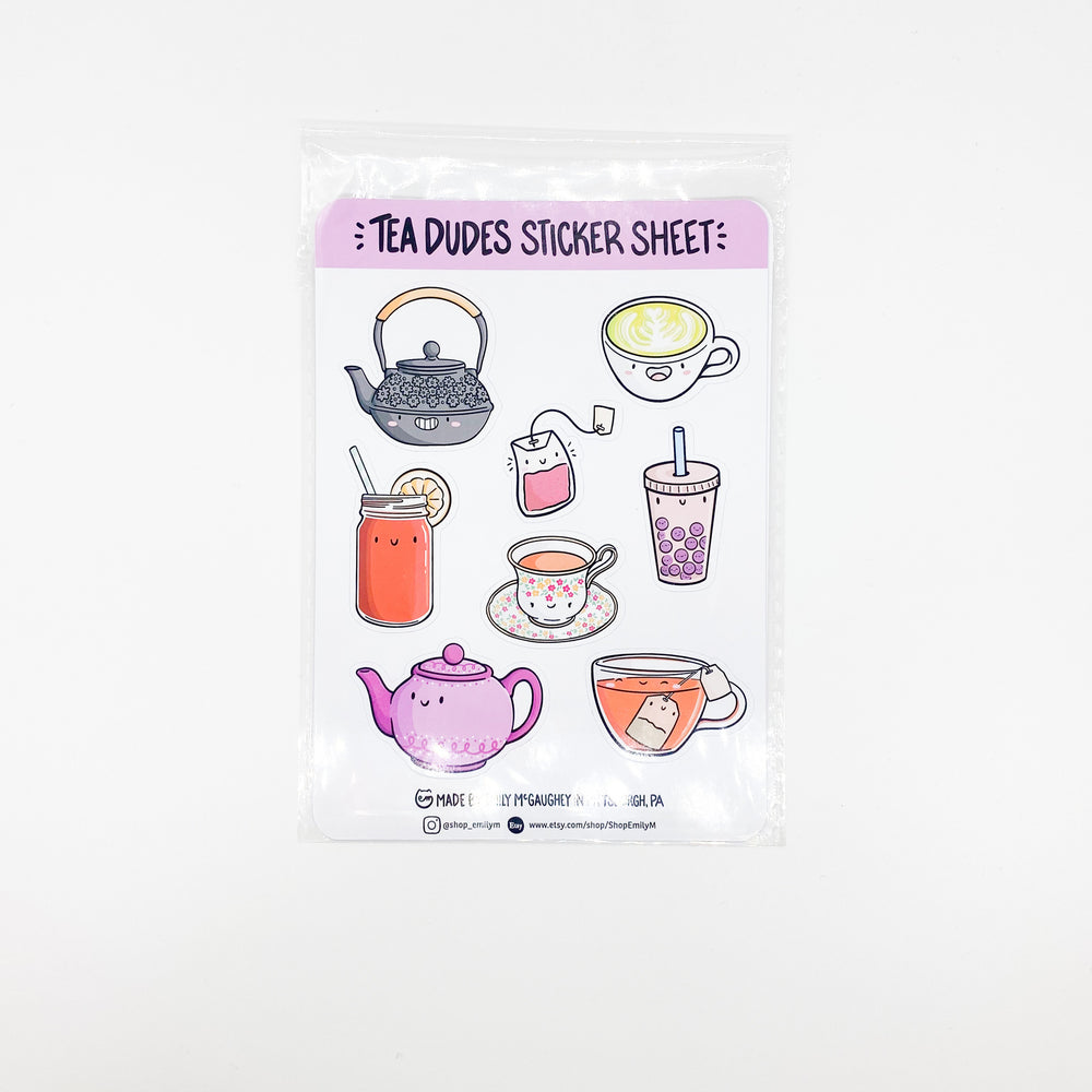 Tea Sticker Sheet
