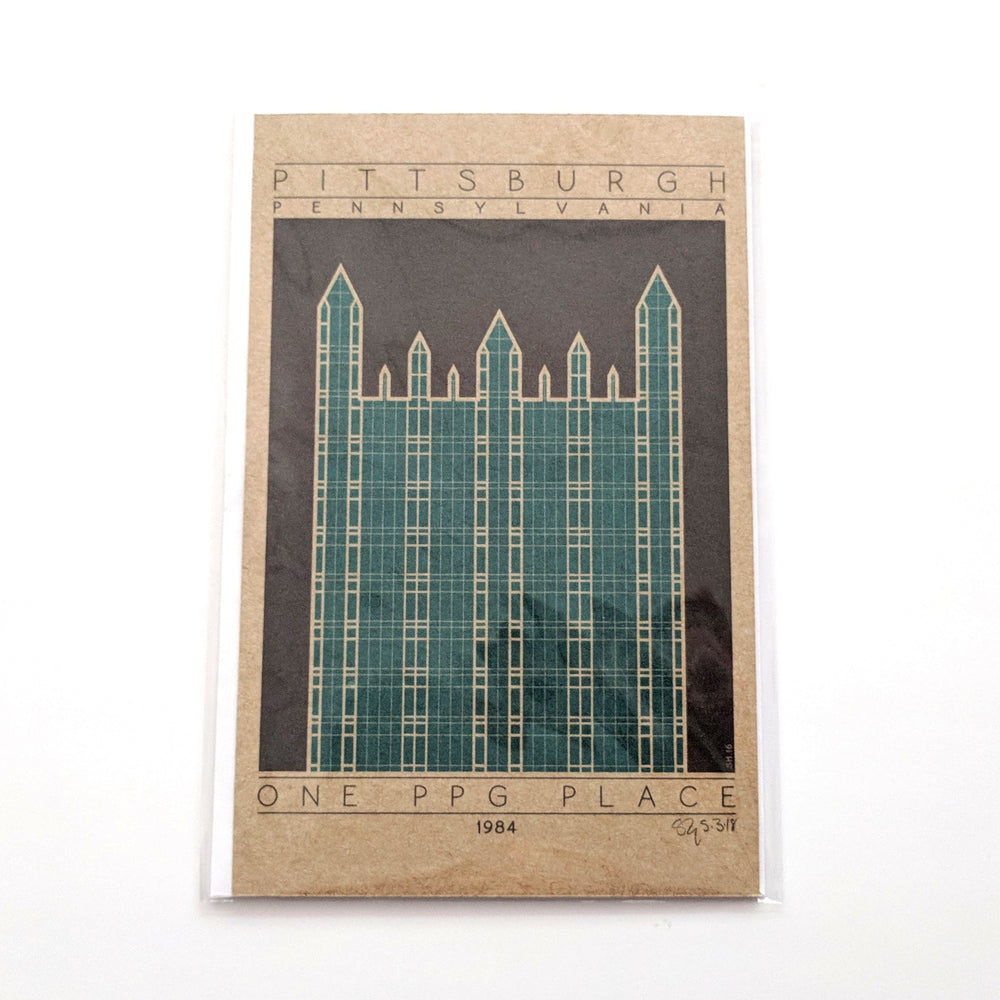One PPG Place Miniature Print