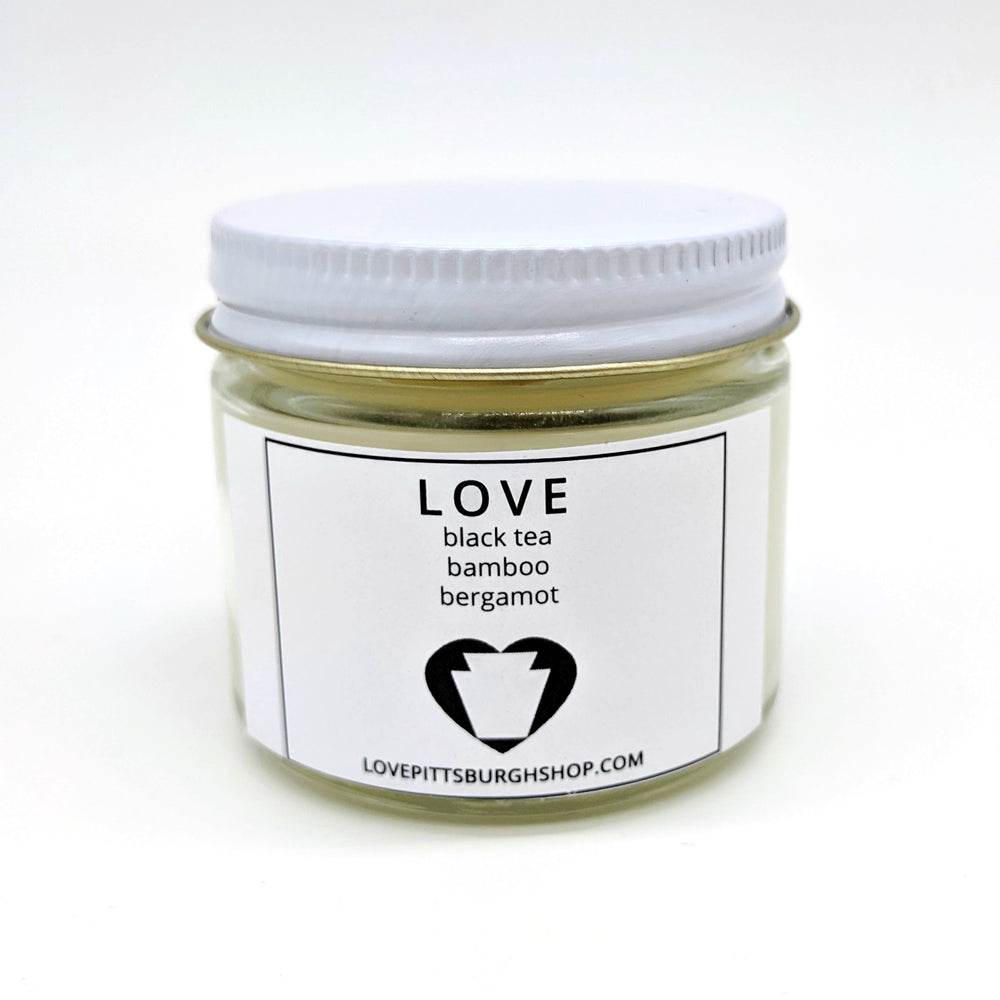 Small LOVE Candle