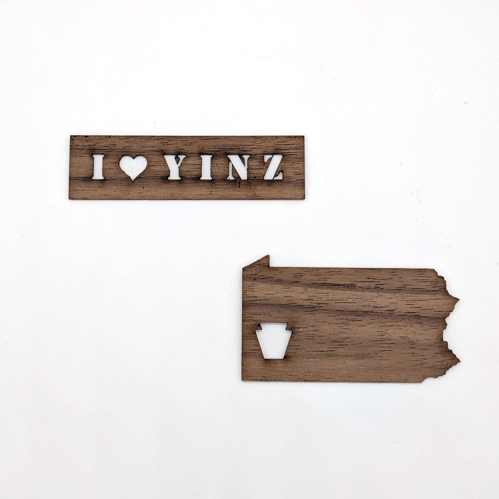Wood Yinz Sticker