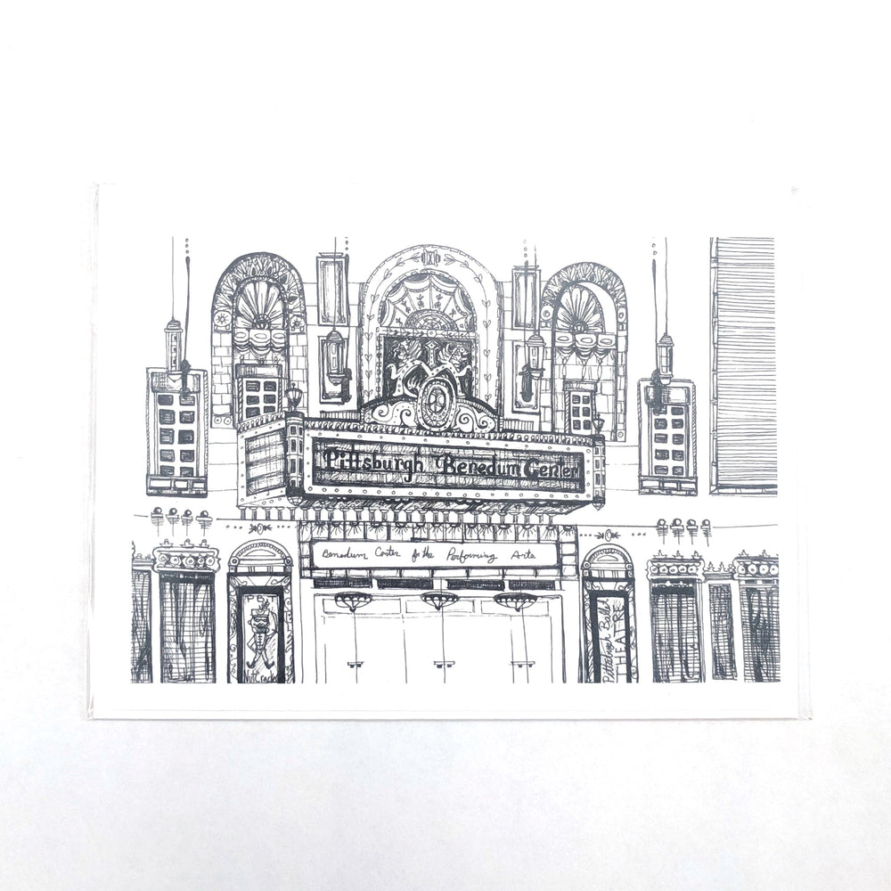 Benedum Center Card