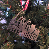 Love Steel Skyline Ornament