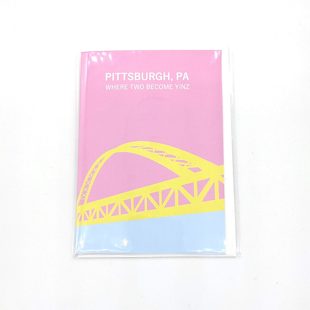 Where Two Become Yinz Card