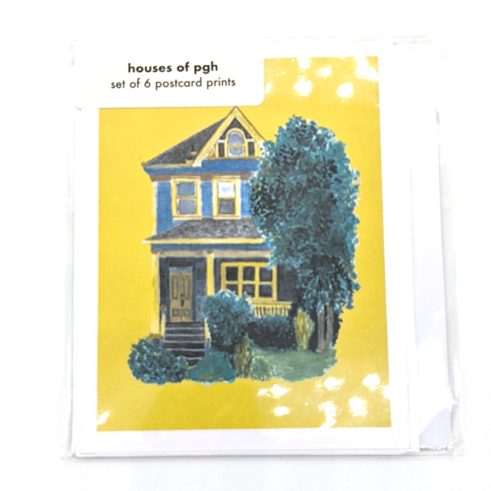 Houses of PGH Postcard Pack