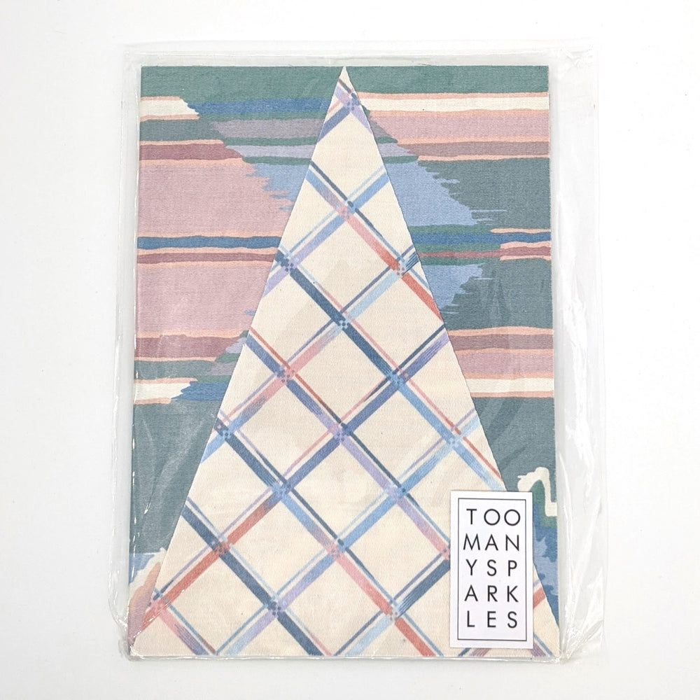 Large Fabric Notebook - Assorted