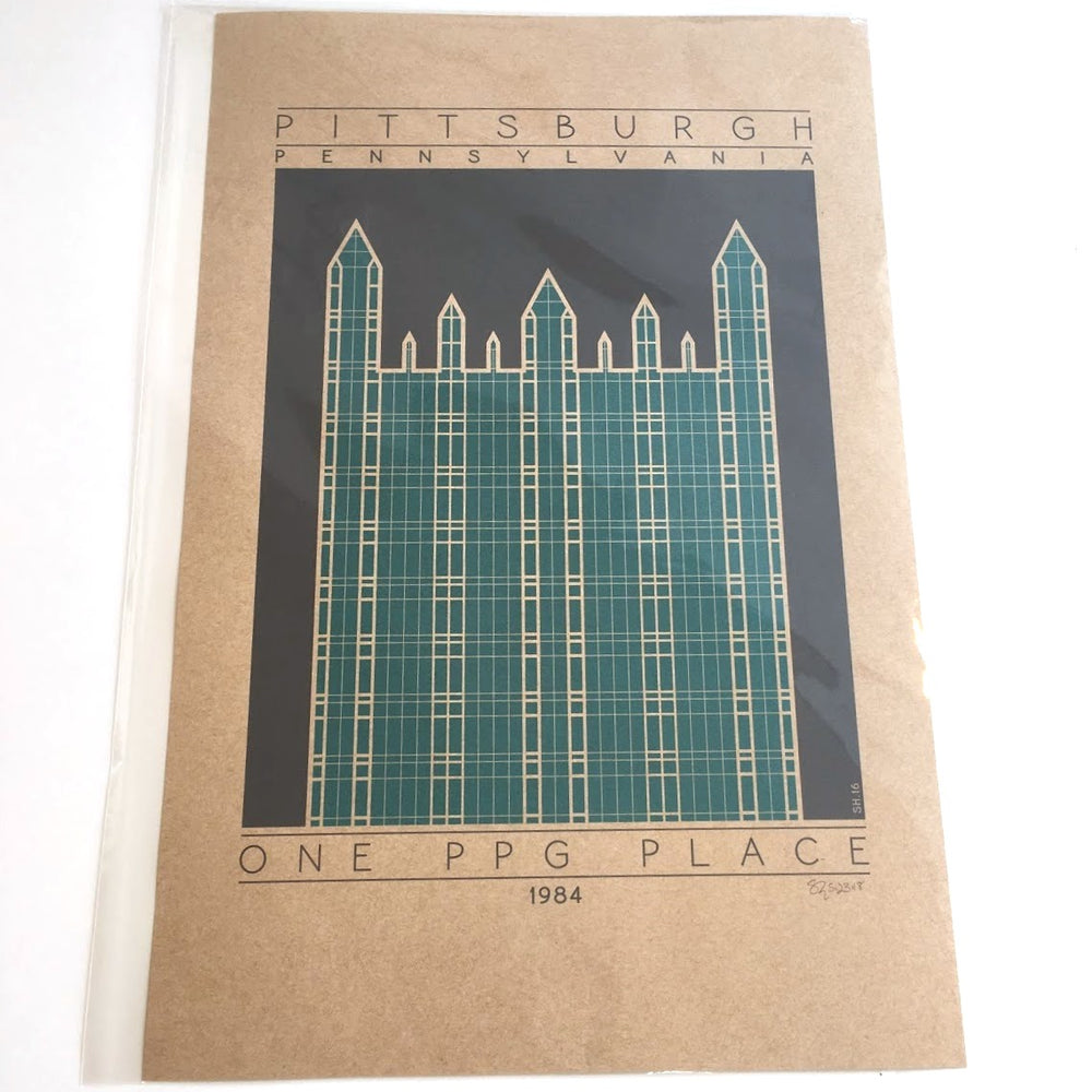 One PPG Place Print