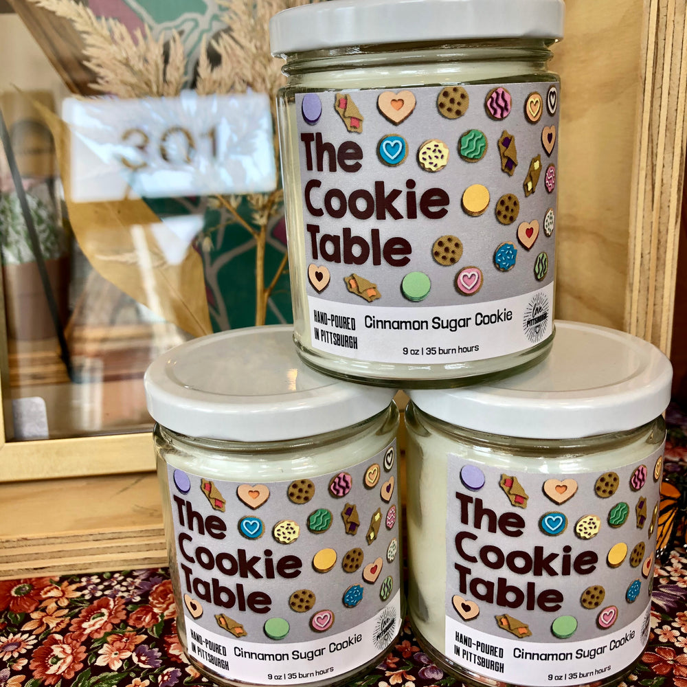 The Cookie Table Candle