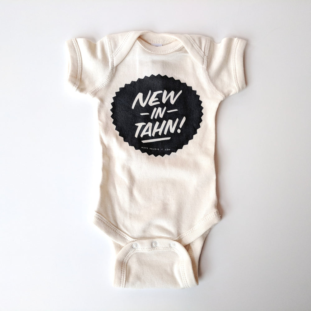 New In Tahn Onesie