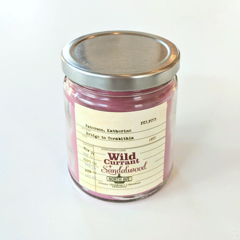 Wild Currant & Sandalwood: Bridge to Terabithia Candle