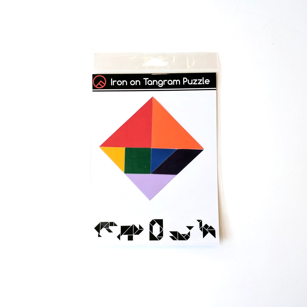 Iron-on Tangram Puzzle Kit