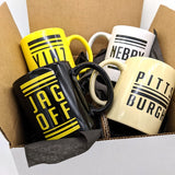 Pittsburgh Mug 4 Pack