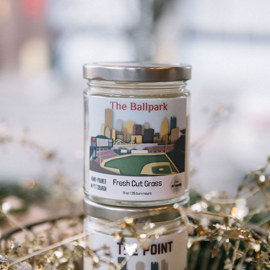 The Ball Park Candle