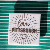 love, Pittsburgh Magnet