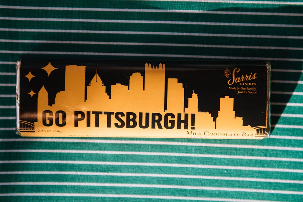 Go Pittsburgh Milk Chocolate Bar