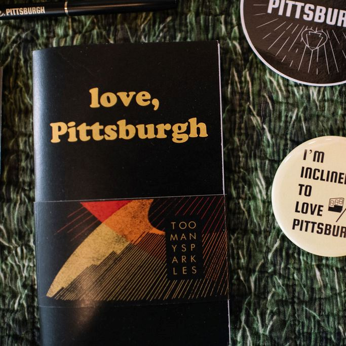 love, Pittsburgh Mini Notebook