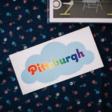 Pittsburgh Cloud Sticker