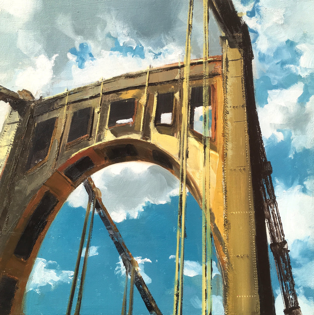 Warhol Bridge Print