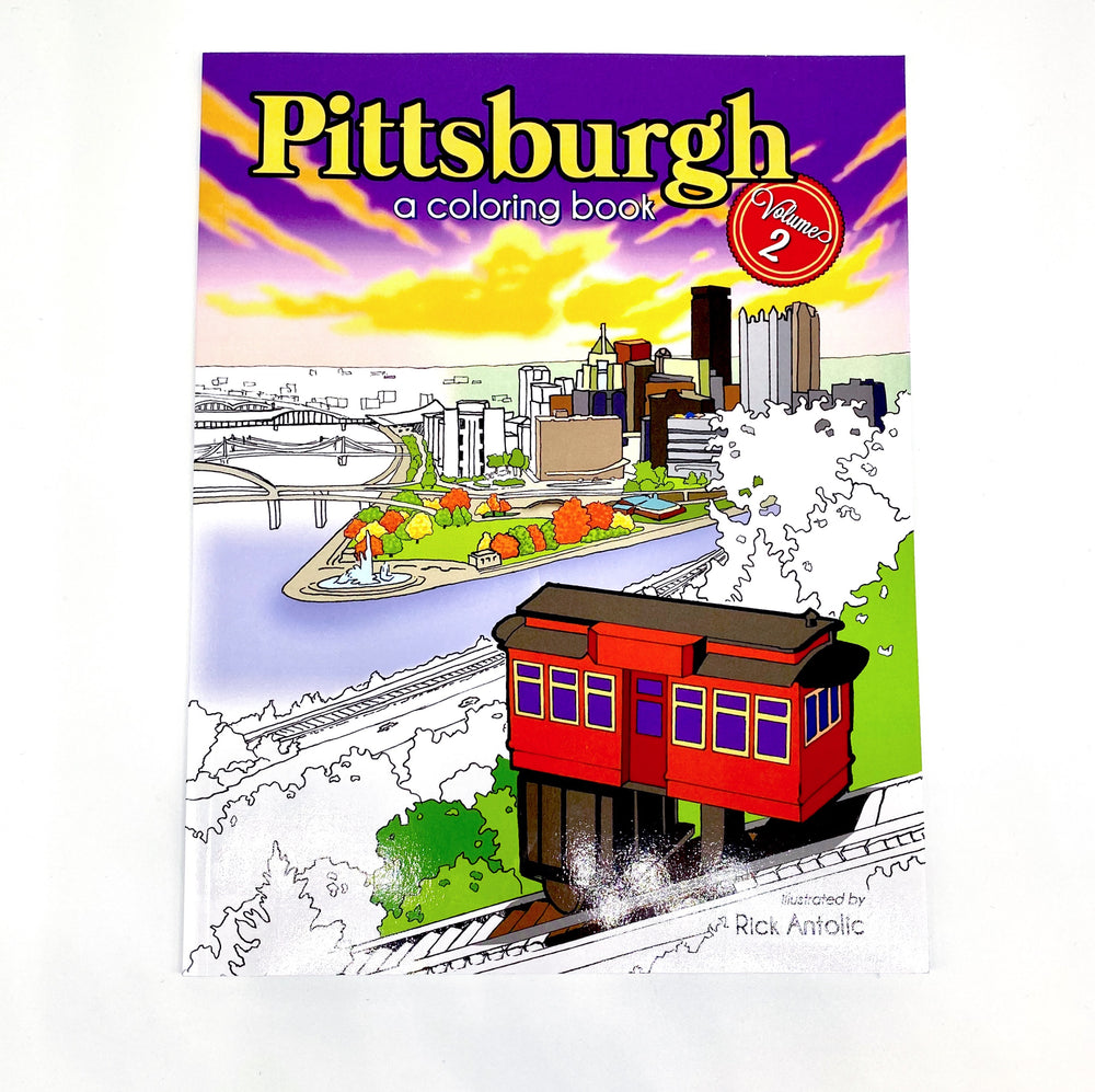 Pittsburgh Coloring Book