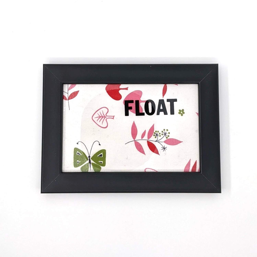 Float Framed Art Card