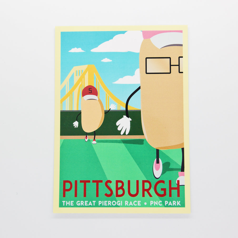Great Pierogi Race Mini Print