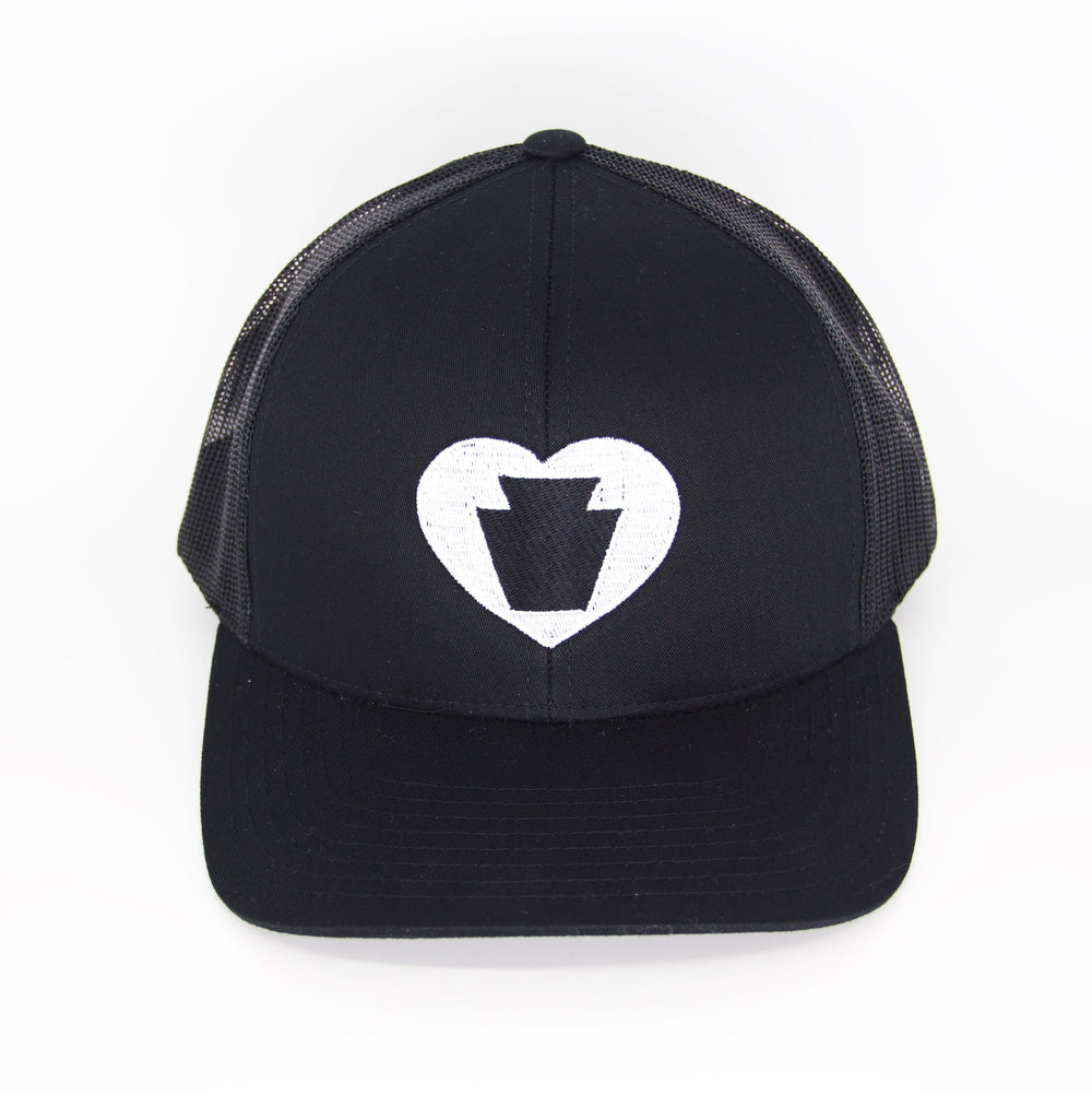 Heart Keystone Hat