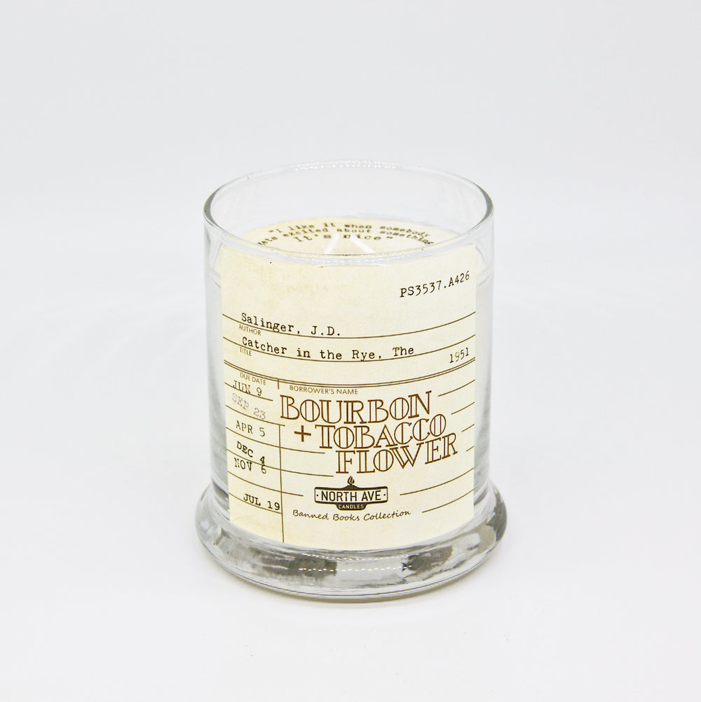 Bourbon + Tobacco Flower: Catcher in the Rye Candle