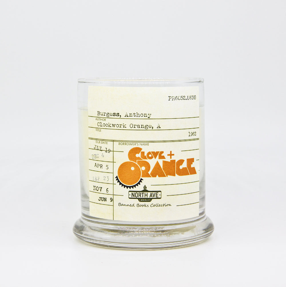Clove + Orange Candle / A Clockwork Orange