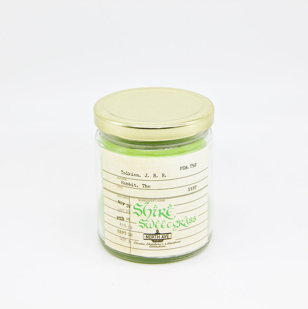 Shire Sweetgrass: The Hobbit Candle