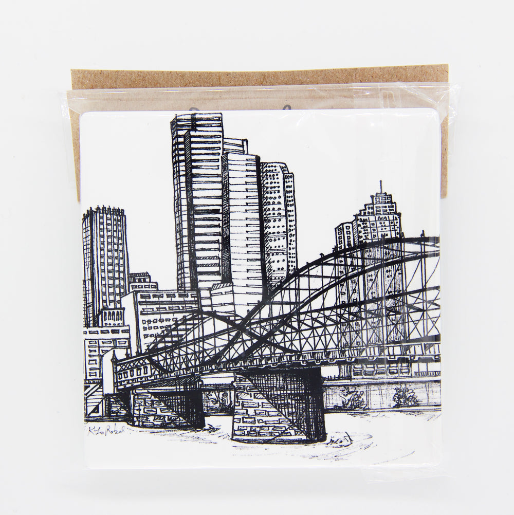Smithfield Street Bridge Coasters