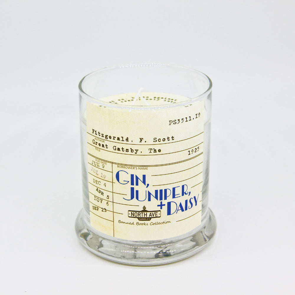 Gin Juniper + Daisy: The Great Gatsby Candle