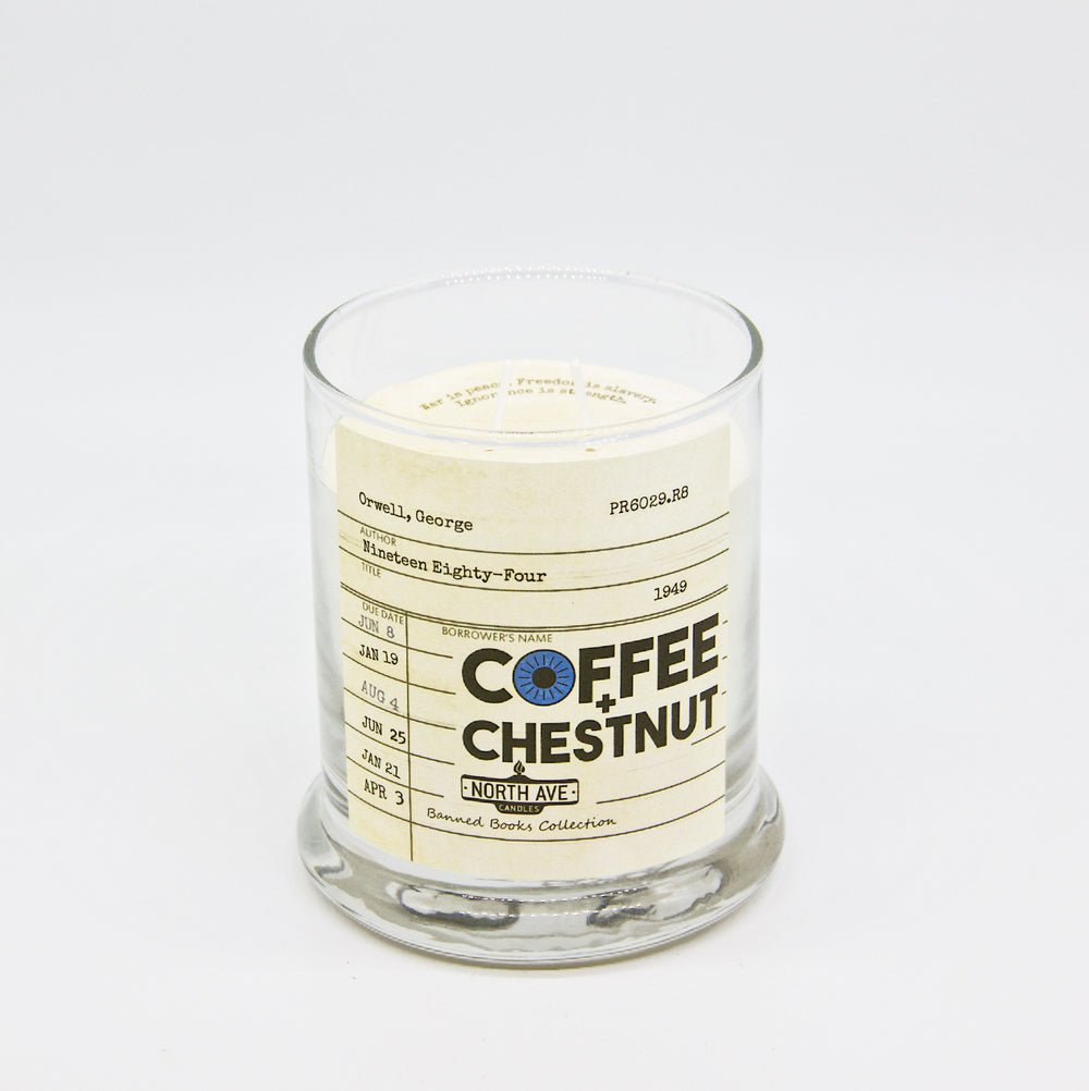Coffee and Chestnut Candle / Nineteen Eighty Four