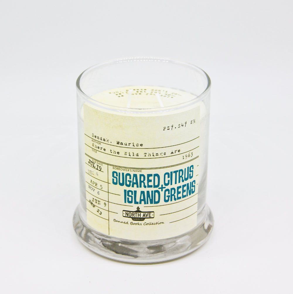Sugared Citrus + Island Greens: Where the Wild Things Are Candle