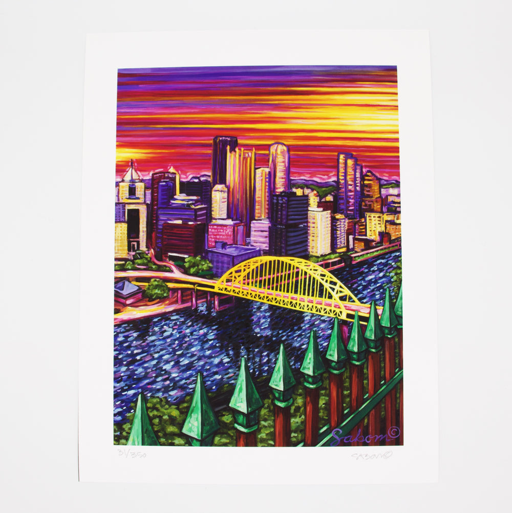 Pittsburgh View Print