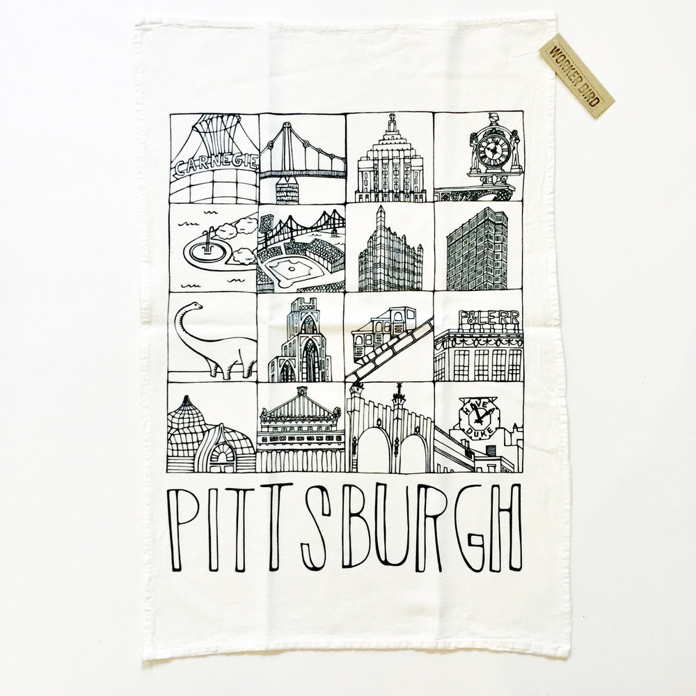 Landmark Tea Towel