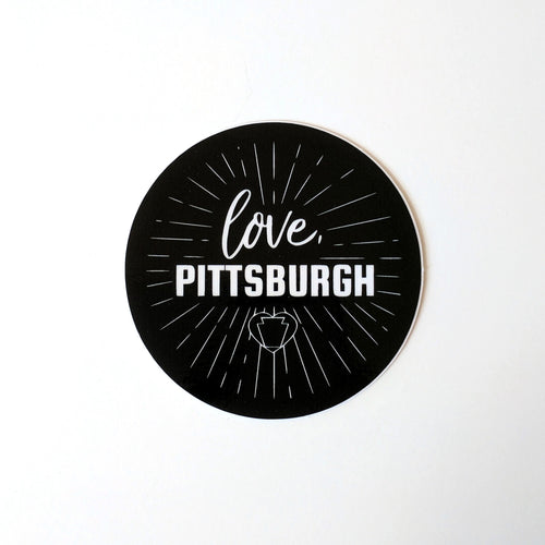 love, Pittsburgh Sticker