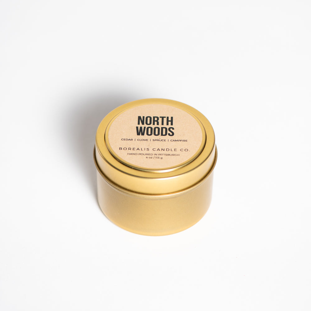 North Woods Travel Candle