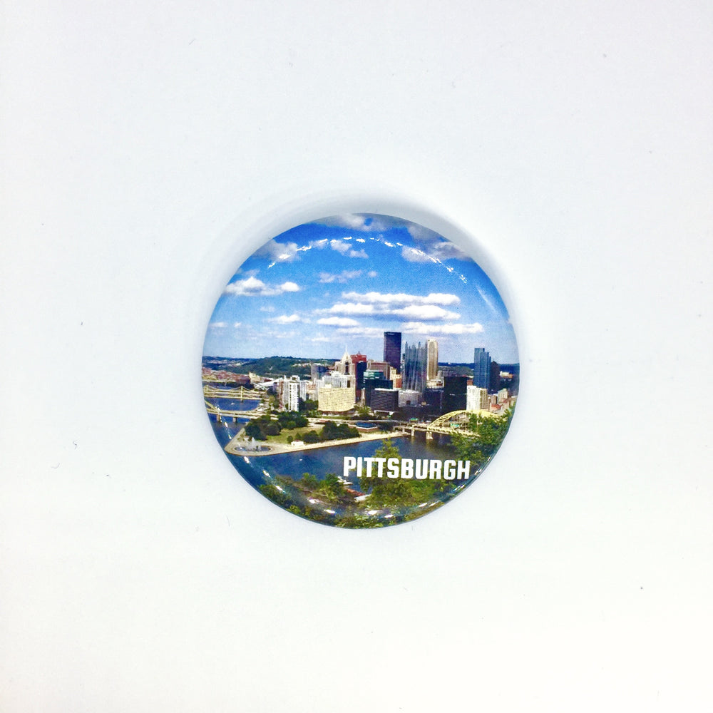 Pittsburgh Photo Magnet
