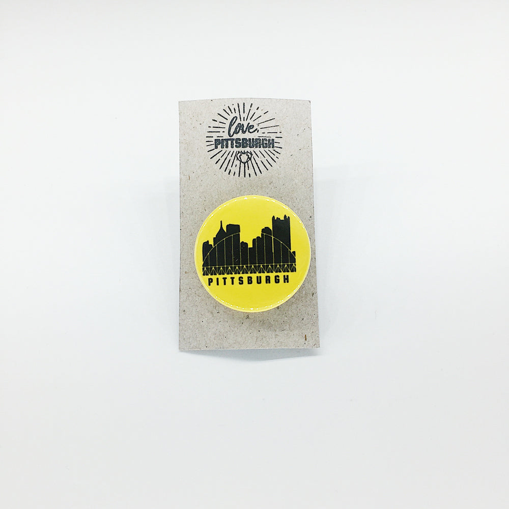 Pittsburgh Bridge Pin