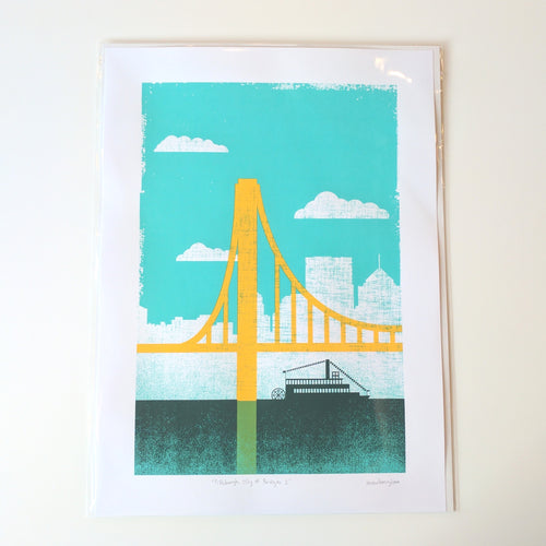 Pittsburgh City of Bridges Print 1