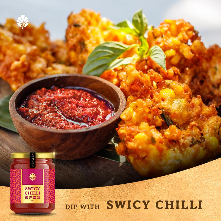 PinXin Swicy Chilli, 200g (Vegan)