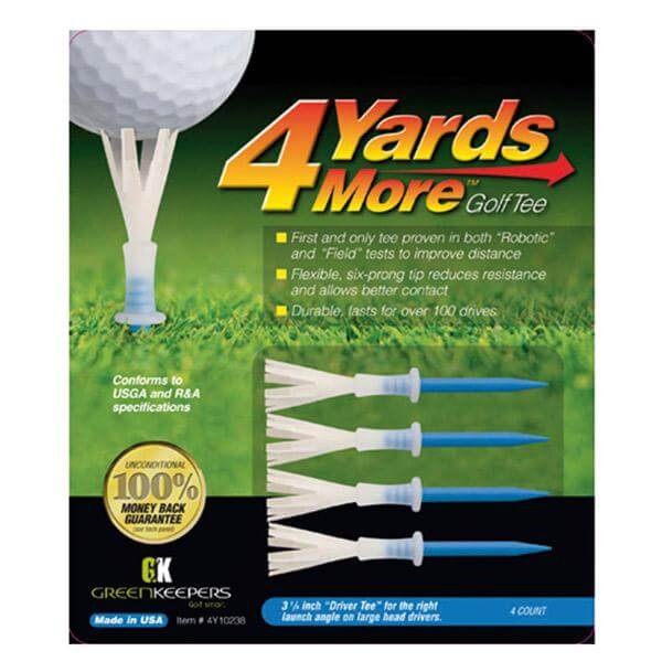 4 Yards More Standard Tees 4 Pack 3.1/4""