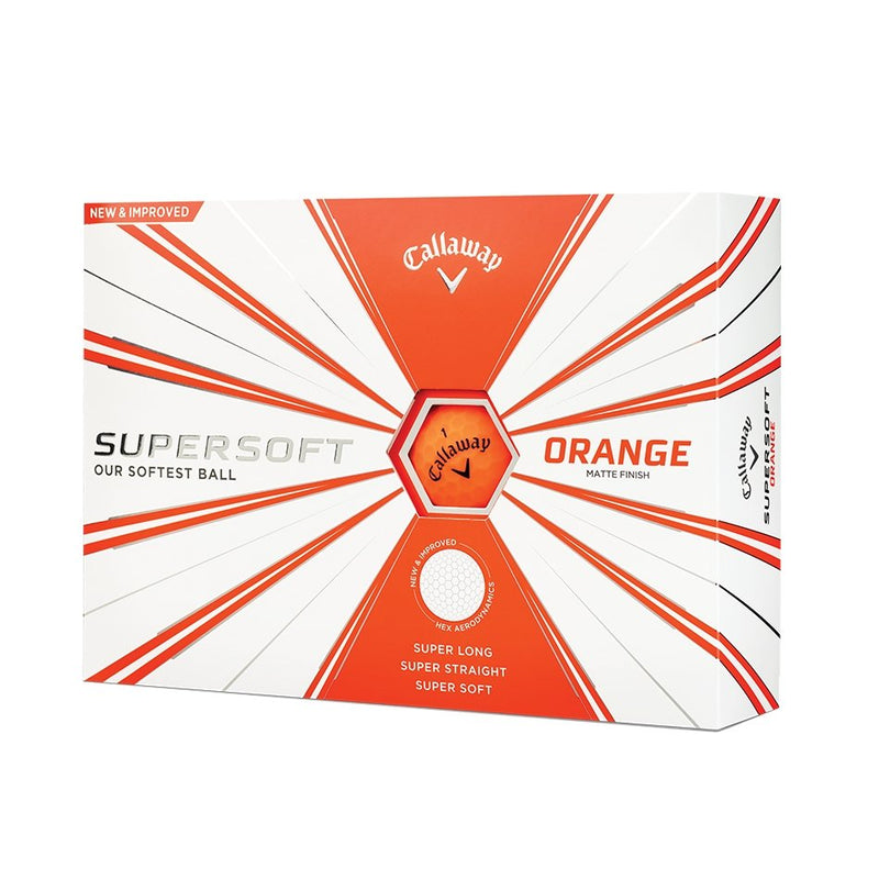 Callaway Supersoft Golf Balls (PICK COLOUR)
